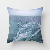 All The Colors Of The Se… Throw Pillow