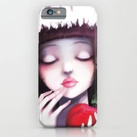 iPhone & iPod Case featuring Snow white by Ludovic Jacqz