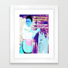 Happy Housewife Framed Art Print
