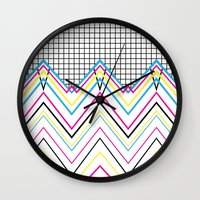 80's Chevy Grid Wall Clock