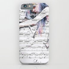 Waiting Place on sheet music iPhone 6 Slim Case