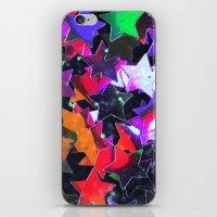 Starry Starry Night Neon… iPhone & iPod Skin