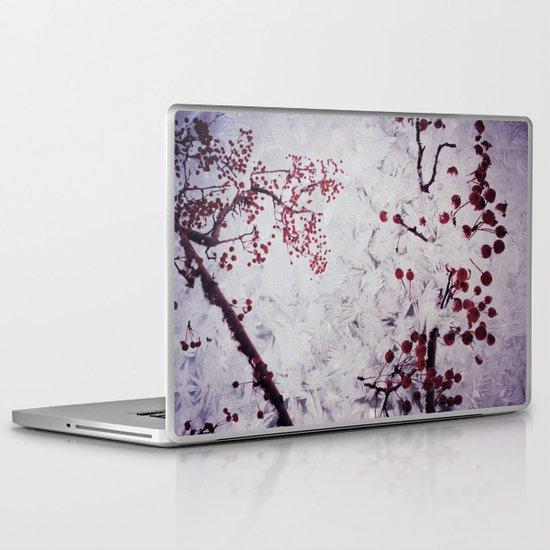 Winter Berries Laptop & iPad Skin