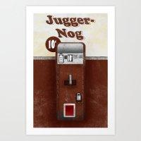 Jugger-Nog Art Print