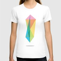 Float - 1 Womens Fitted Tee White SMALL