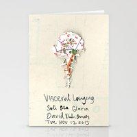 Visceral Longing  Stationery Cards