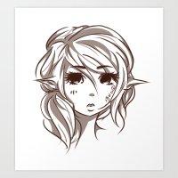 Elven Art Print