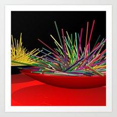 I like spaghetti Art Print