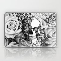 Butterfly rose skull with ladybugs. Good luck Laptop & iPad Skin
