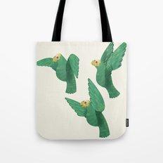 Cotorras Tote Bag