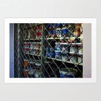 Paint Shop Art Print