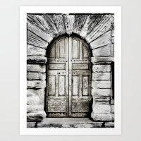 closed#01 Art Print