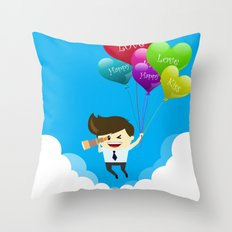 Special Valentine Throw Pillow