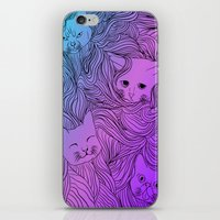 Shades of Cat iPhone & iPod Skin