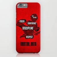 iPhone & iPod Case featuring Martial Arts Gives Me by Birdskull Studios