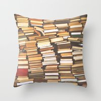 Read me! Throw Pillow