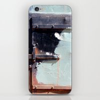 Latch And Blue iPhone & iPod Skin