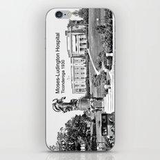 Moses-Ludington Hospital 1930 iPhone & iPod Skin