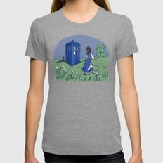 Adventure In The Great W… Womens Fitted Tee Tri-Grey SMALL