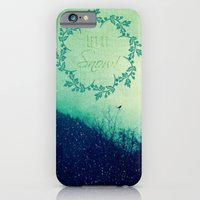 iPhone & iPod Case featuring Let it Snow in the Mountains! by RDelean