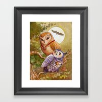 Someone To Watch Over Me… Framed Art Print