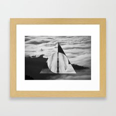 The Tale of Three Brothers - Deathly Hallows Framed Art Print