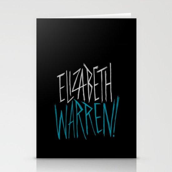 Elizabeth Warren! Stationery Card