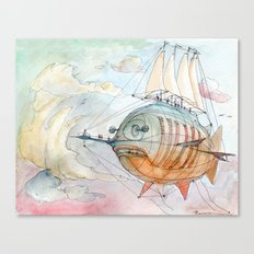 The Flying Fish! Canvas Print