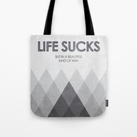 Life Sucks Tote Bag