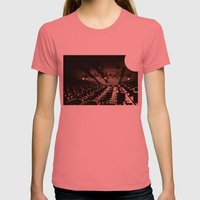 Control Womens Fitted Tee Pomegranate SMALL