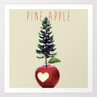 Pine Apple Art Print