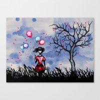 Balloon Killer Canvas Print