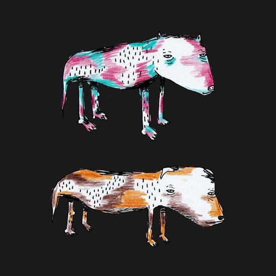 Poor Dogs Art Print