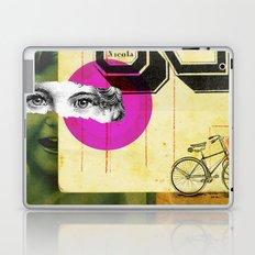 Play hide and seek with petit Nicola Laptop & iPad Skin