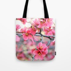 Evening Quince Tote Bag