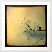 Solitude Mood Art Print