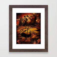 ROTTING EARTH Framed Art Print