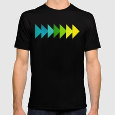 Arrows I SMALL Mens Fitted Tee Black