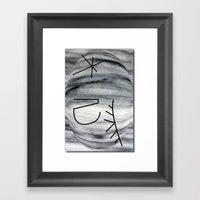I Make My Own Volcanoes Framed Art Print