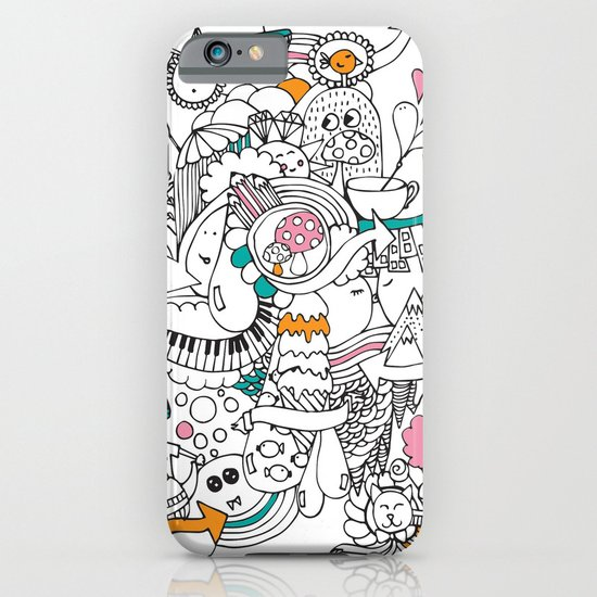 My Happy Doodle iPhone & iPod Case