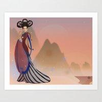Empress Wu Zetian - China Art Print