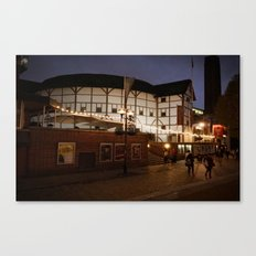 An Evening At The Globe Canvas Print