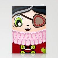 Pirate Princess Stationery Cards