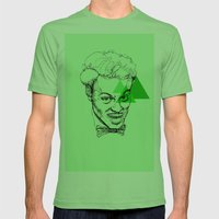 Chuck Berry Mens Fitted Tee Grass SMALL