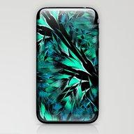 Jungle Trip (teal) iPhone & iPod Skin