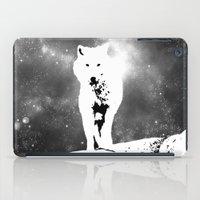 Walking on the moon Wolf iPad Case