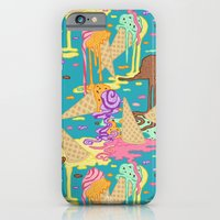 iPhone & iPod Case featuring Meltin'  icecreams by Marica Zottino