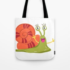 Cute Snail Tote Bag