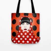 The Many Faces Of Peggy … Tote Bag