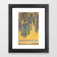 Birch 3 Framed Art Print